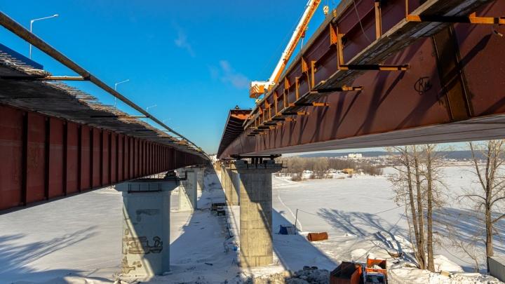 В Самаре строители планируют опустить новый мост через Сок