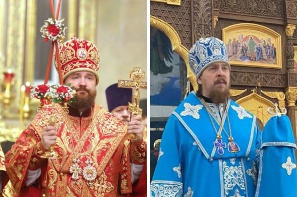 Митрополит Григорий (слева) решением синода назначен главой Кубанской митрополии, его место займет епископ Алексий