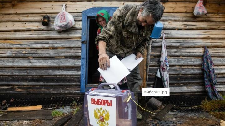 В Сургутском районе специалисты ТИК на вертолетах отправились в стойбища, где голосуют ханты