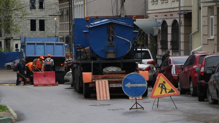 На улице Новой появится участок с двухсторонним движением. Это связано с ремонтными работами