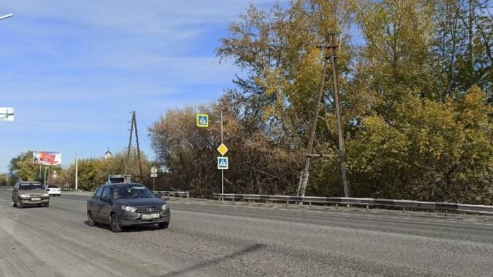 В Кургане начали ремонтировать шоссе Тюнина