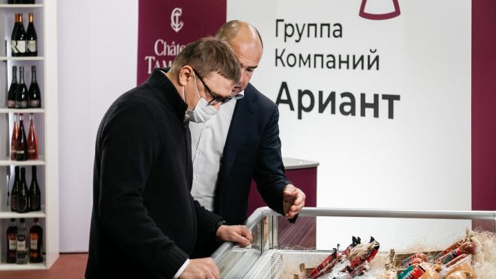 Губернатор Челябинской области Алексей Текслер посетил центры «Ариант»