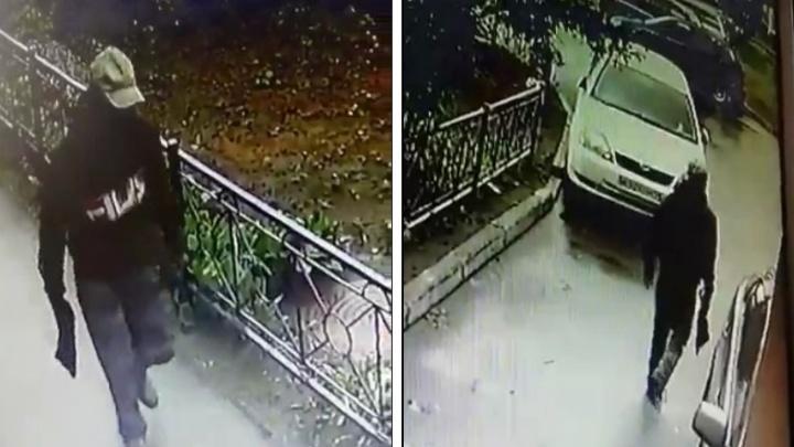 Появилось видео с предполагаемым стрелком из Ленинского района