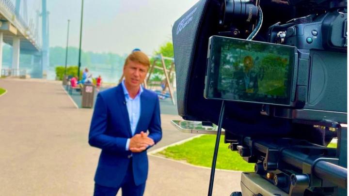 Фигурист Ягудин приехал в Красноярск и не увидел смога, а позже обвинил красноярцев в травле
