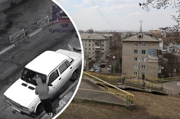 Грабители орудовали в Черемушках на правом берегу города