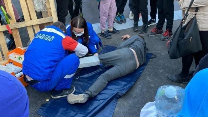 «Один сломал ногу, двое — руки»: в Кировском районе Волгограда на недоделанном роллердроме травмировались дети