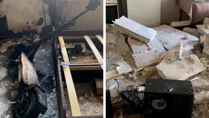 Пермские следователи начали проверку после взрыва электросамоката в квартире