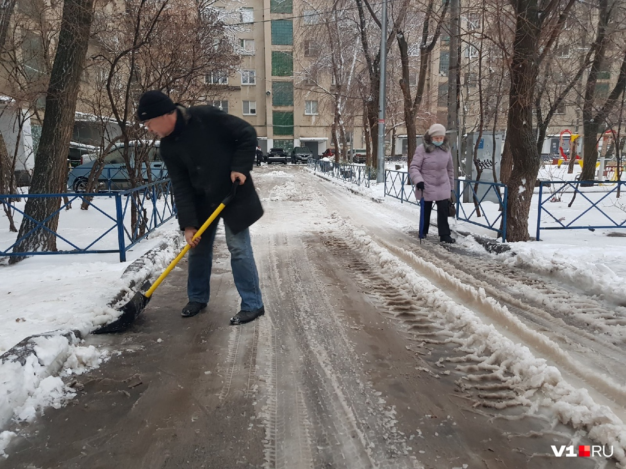 Волгоградцы ждут не только чистых дорог, но и дворов