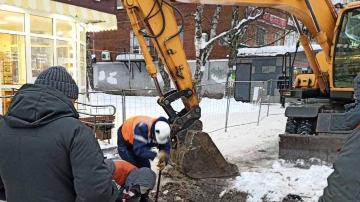 В Перми из-за аварии без тепла и горячей воды остались более 45 домов