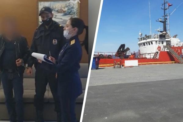 Следователи отмечают, что связь между действиями задержанного и трагедией на «Онеге» подтвердила одна из экспертиз