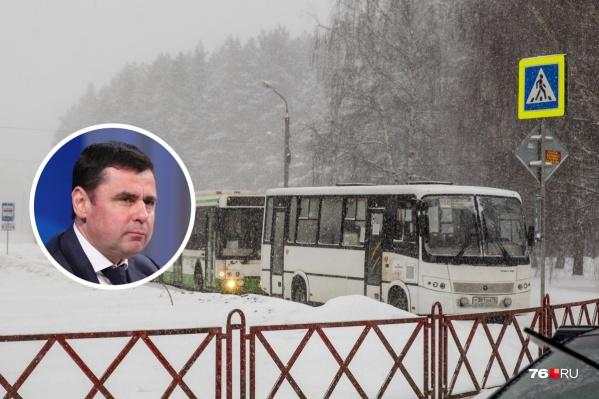 Губернатор попросил мэра Ярославля детально проработать транспортную реформу