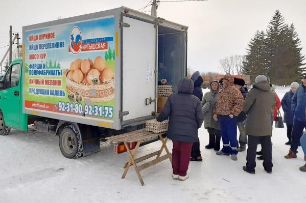 Первыми яйца смогут купить жители поселений Омского района