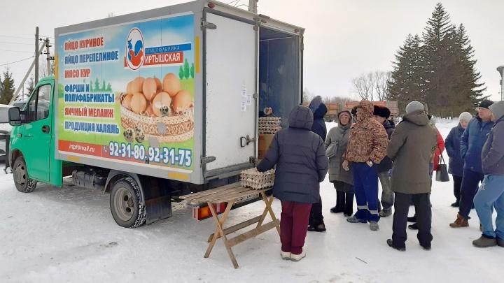 Иртышская птицефабрика начала продавать свою продукцию впервые после птичьего гриппа