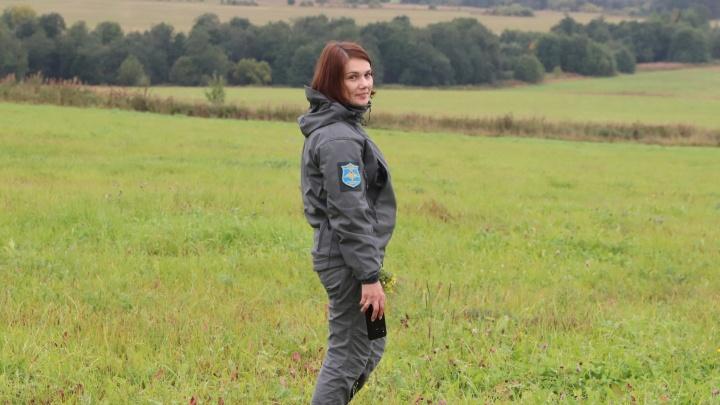 Во время прыжка с парашютом в Архангельске погибла глава патриотического клуба «Орден»