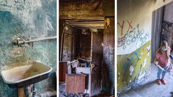 «Мы до этого времени все помрем»: как живет самый старый аварийный дом в Ярославле