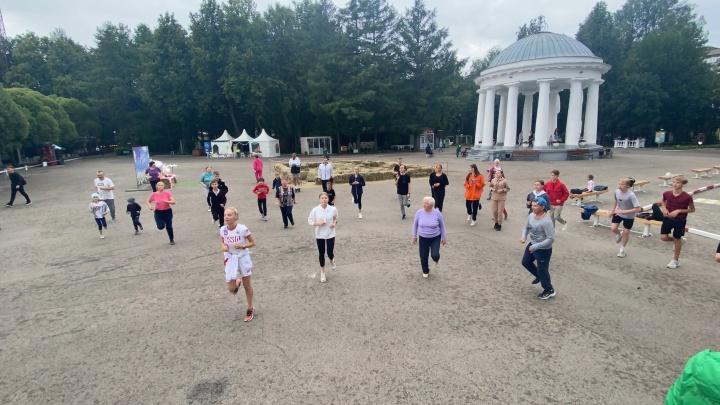 В здоровом теле — здоровый дух: в Перми завершились тренировки для подготовки к комплексу ГТО