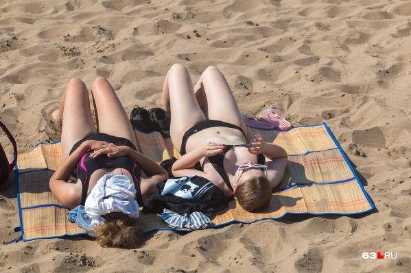 Совсем скоро горожане смогут насладиться отдыхом на пляжах Самары