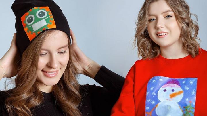 Дизайнеры создадут одежду с рисунками детей-сирот, чтобы собрать деньги на хоккейный корт в Берёзовском