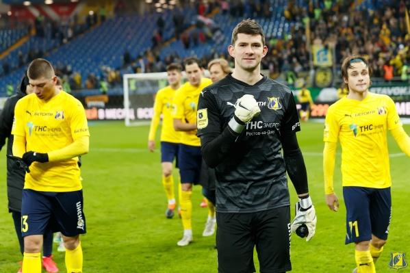 Бабурин в нынешнем сезоне провел за «Ростов» четыре матча