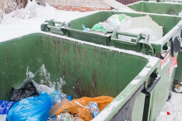 Сейчас в регионе мусор не сортируют