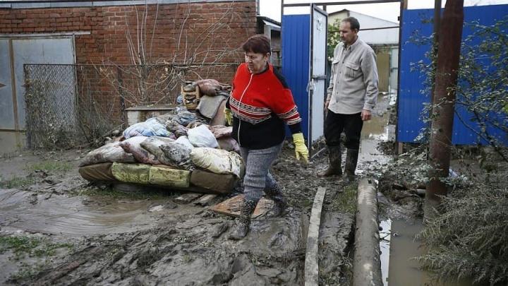 В лесу Северского района нашли мусор, который власти собирали после потопа на улицах