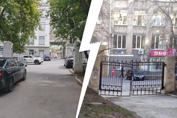 Жители уверены, что ограждение исчезло не случайно: они считают, их двор решили использовать в качестве стоянки