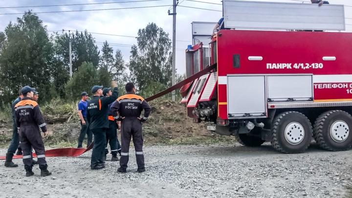 В Первоуральске из-за лесного пожара эвакуировали пациентов ковидного госпиталя