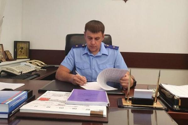 """Роман Прасков работает в прокуратуре <nobr class=""""_"""">с 2006 года</nobr>"""