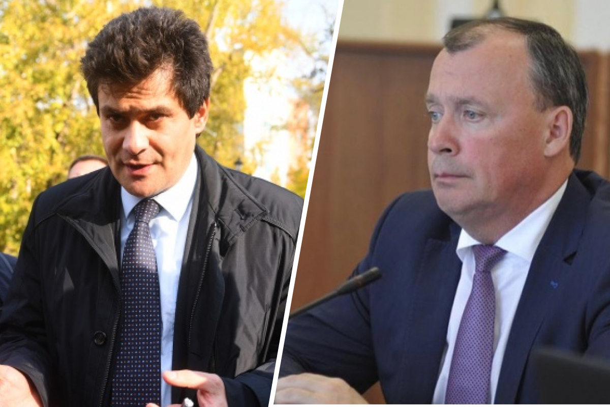 Александр Высокинский и Алексей Орлов поменялись местами, которые занимали в мэрии и правительстве области