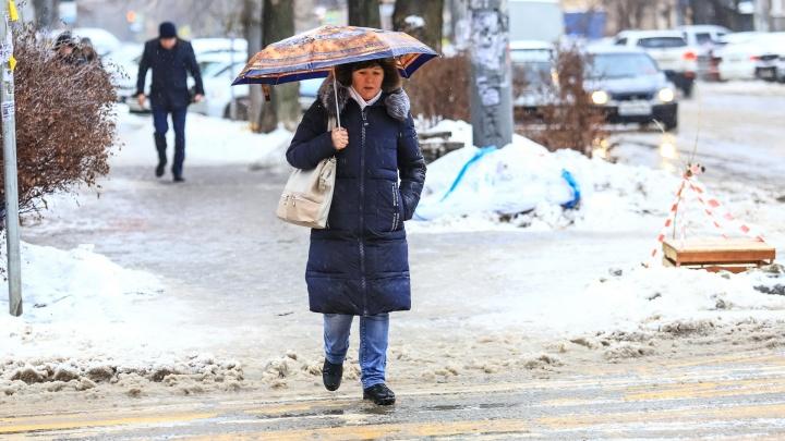 В Ростове похолодает до -18°С