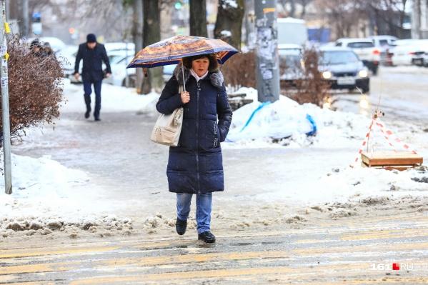В течение недели будет становиться всё холоднее