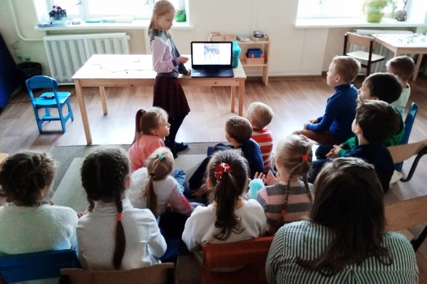 В студии дети сами выбирают предметы и составляют план освоения программы, учатся брать на себя ответственность