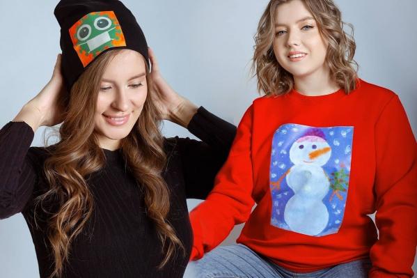 Дизайнеры создают одежду с рисунками детей-сирот