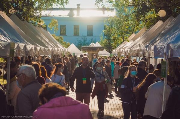 Фестиваль «Другой» преобразил в прошлом году Петровский сквер