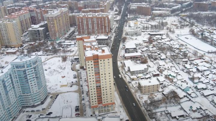 Высотки, частный сектор и кладбище: смотрим, как живут самарцы на Тухачевского и Киевской