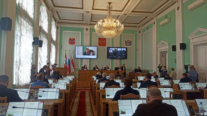 Отставка мэра: онлайн-трансляция первого заседания горсовета