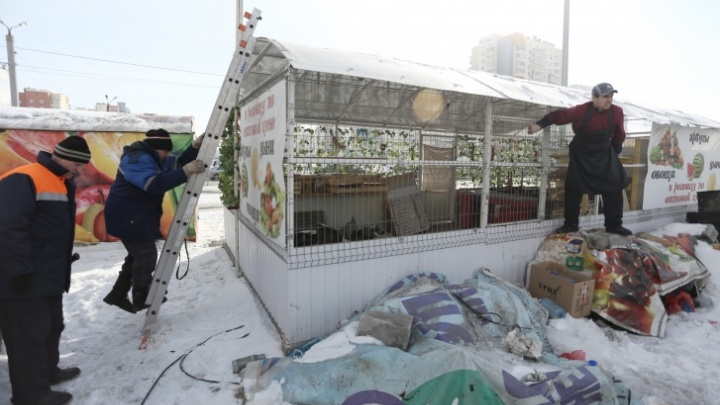 Вице-мэр объяснила, почему в Челябинске прекратили снос незаконных ларьков
