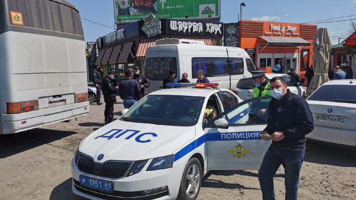 Тысячи силовиков оцепили рынки под Ростовом