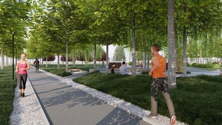 «Анекдотические дорожки»: архитекторы оценили, что не так в новом проекте благоустройства Юбилейного парка