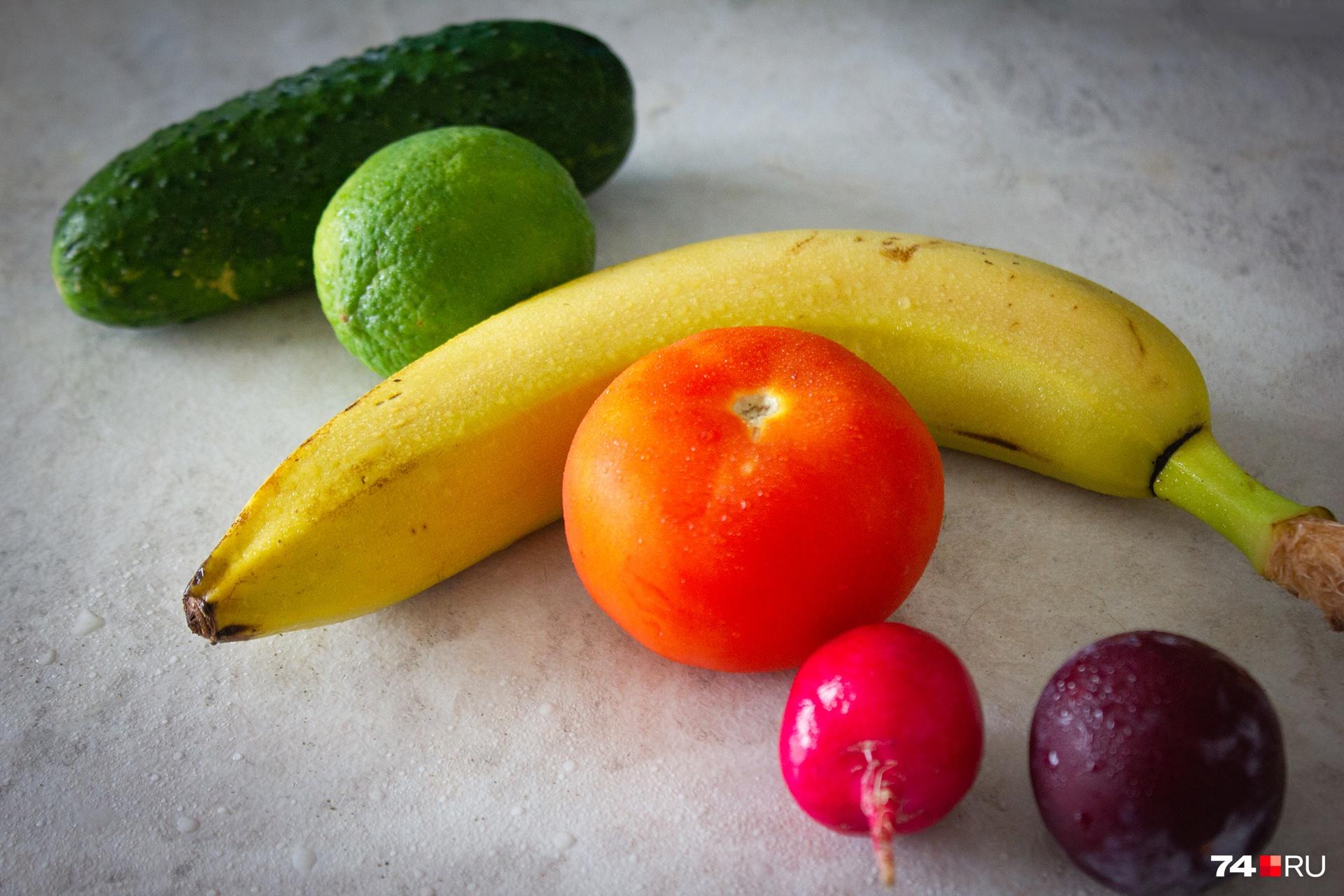 Хотя каждый цвет в продуктах несет в собой отдельную пользу, диетологи рекомендуют соблюдать баланс