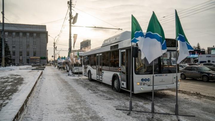 Часть новых минских автобусов сняли с маршрутов в Новосибирске
