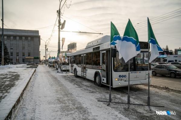 Часть новых автобусов сняли с маршрутов