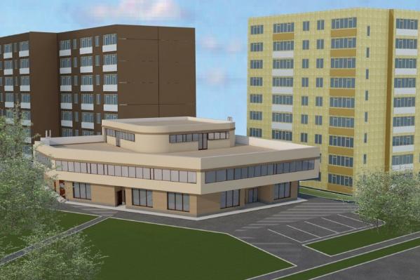 Трехэтажное здание на Куйбышева, 104 планируют достроить этим летом