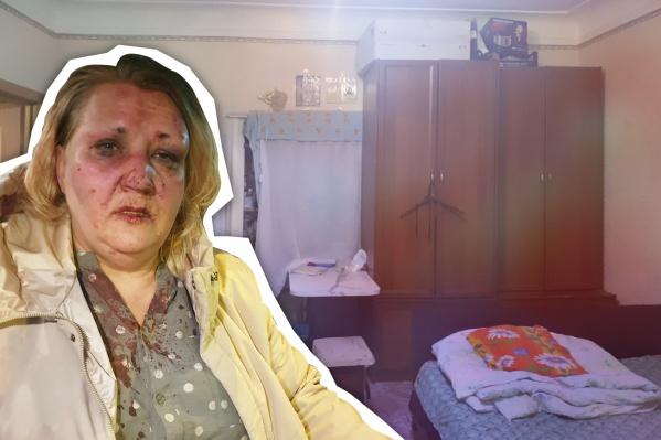 Так выглядела Марина Демидович после нескольких часов, проведенных в коммунальной квартире