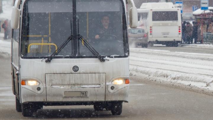 В Самаре хотят объединить два автобусных маршрута