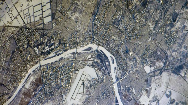 Омск, ты просто космос! Рассматриваем город на снимках с орбиты