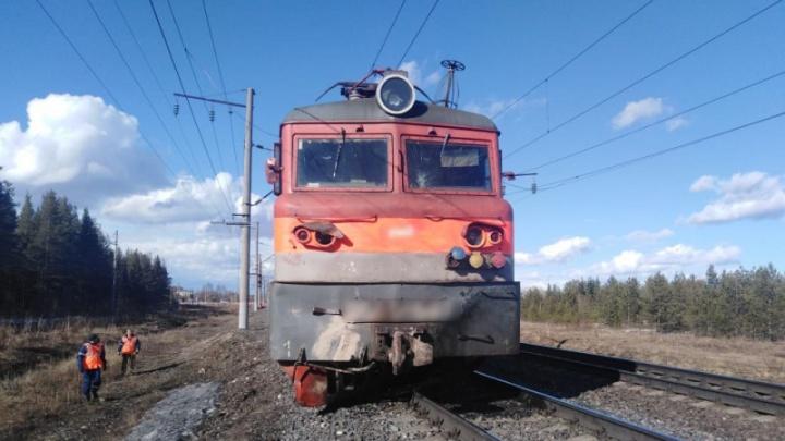 В Плесецком районе грузовик врезался в поезд. Водитель погиб