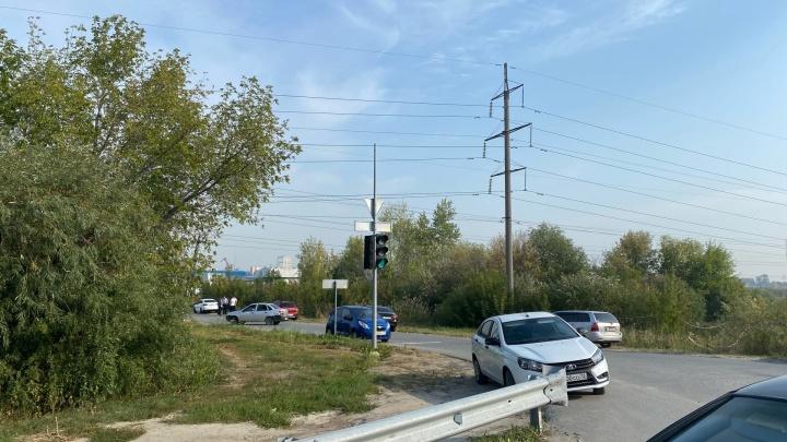 Подозреваемого в убийстве Насти Муравьёвой привезли на Лесобазу