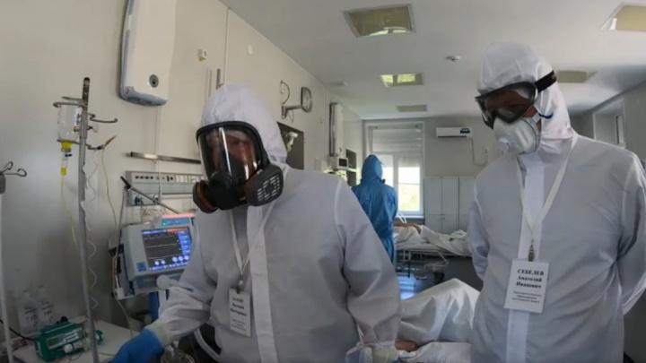 Чиновники волгоградского облздрава рассказали о пользе прививок больным в «красной» зоне