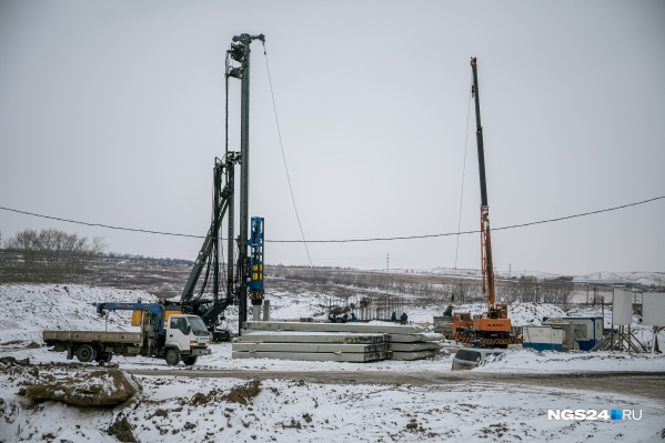 Пока на участках продолжается строительство переезда через Северное шоссе